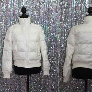 Jackets & Blazers - Refugee Winter White Puff Coat Coat *New (S)